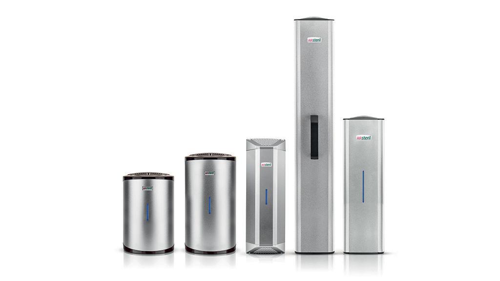 AIRsteril - purificatori d'aria ad azione fotocatalitica